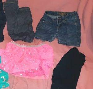 Size 7/8 ~ 6pc. BUNDLE~2.Shorts/1.Skirt/1tutu.with